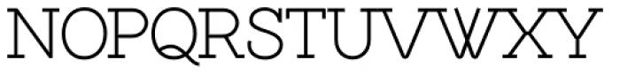 Brownstone Slab Light Font UPPERCASE