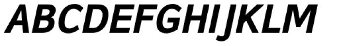 Browser Sans Bold Italic Font UPPERCASE