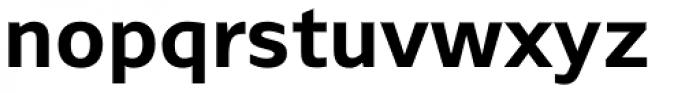 Browser Sans Bold Font LOWERCASE