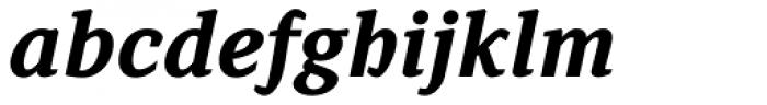 Browser Serif Bold Italic Font LOWERCASE