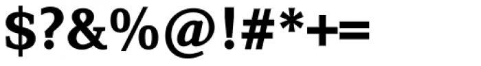 Browser Serif Bold Font OTHER CHARS