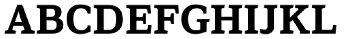 Browser Serif Bold Font UPPERCASE