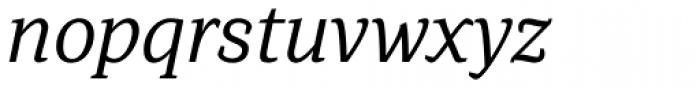Browser Serif Italic Font LOWERCASE
