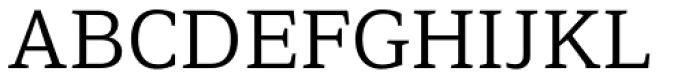 Browser Serif Font UPPERCASE