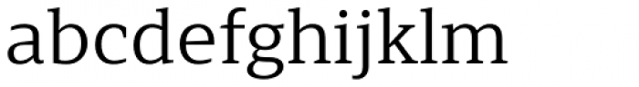 Browser Serif Font LOWERCASE