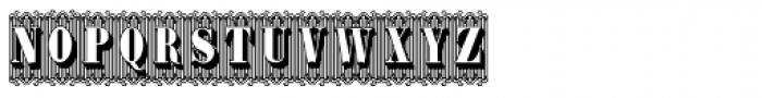 Bruce 1490 Font UPPERCASE