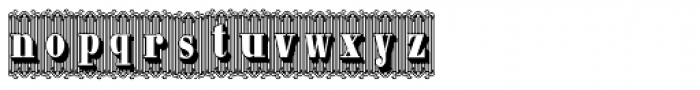 Bruce 1490 Font LOWERCASE