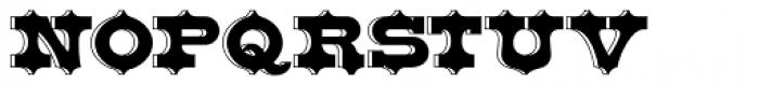Bruce Belgina NF Font UPPERCASE