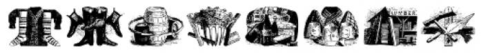 Bruce Miscelania 2 Medium Font UPPERCASE