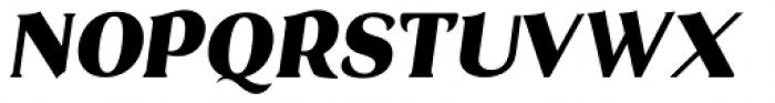 Brume Italic Font UPPERCASE