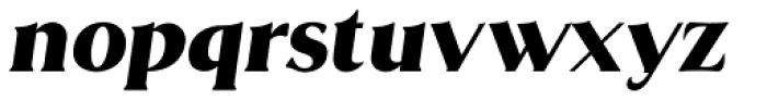 Brume Italic Font LOWERCASE