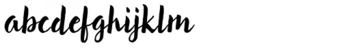 Brun Clean Font LOWERCASE
