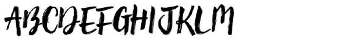 Brun Font UPPERCASE