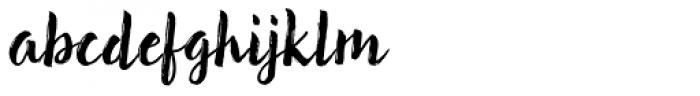 Brun Font LOWERCASE