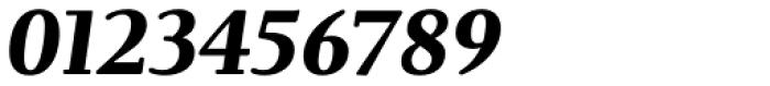 Brunch Pro Black Italic Font OTHER CHARS