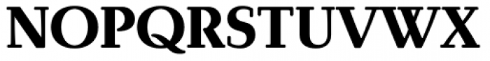 Brunch Pro Black Font UPPERCASE