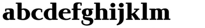 Brunch Pro Black Font LOWERCASE