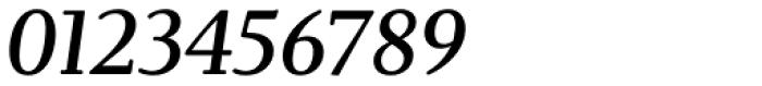 Brunch Pro Medium Italic Font OTHER CHARS