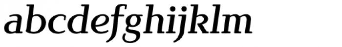 Brunch Pro Medium Italic Font LOWERCASE