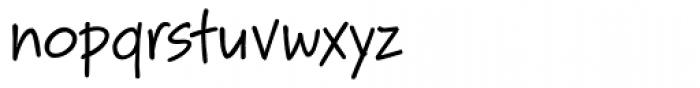 Bruno JB Regular Font LOWERCASE