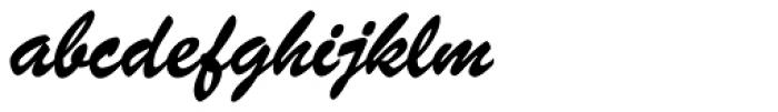 Brush ATF Bold Font LOWERCASE