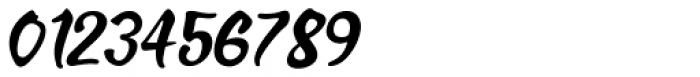 Brush Off Oblique JNL Font OTHER CHARS