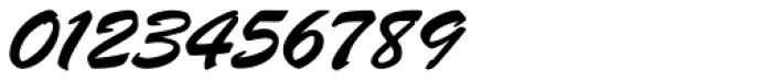 Brush Script Pro Font OTHER CHARS