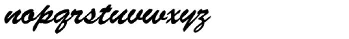 Brush Script SB Regular Font LOWERCASE