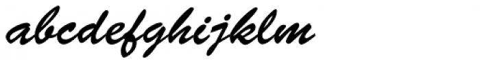 Brush Script Std Regular Font LOWERCASE