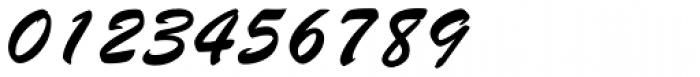 Brush Script Font OTHER CHARS