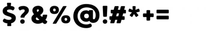 Brushability Sans Black Font OTHER CHARS