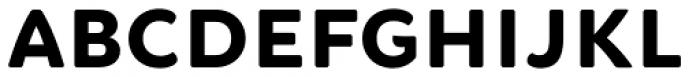 Brushability Sans Black Font LOWERCASE