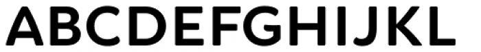 Brushability Sans Bold Font LOWERCASE