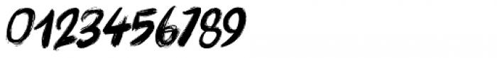 Brushcrazy Italic Font OTHER CHARS