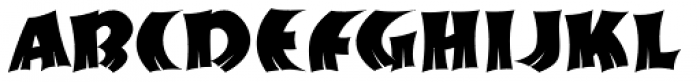Brushmark JNL Font UPPERCASE