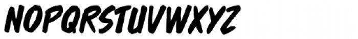 Brushzerker BB Italic Font UPPERCASE