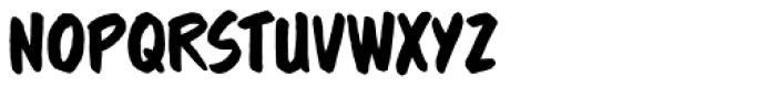 Brushzerker BB Font LOWERCASE