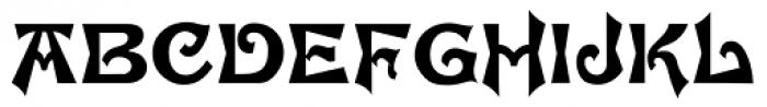 Brussels Font UPPERCASE