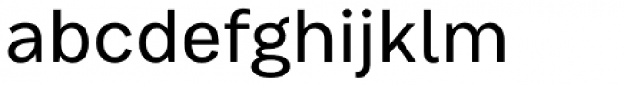 Bruta Pro Regular Regular Font LOWERCASE
