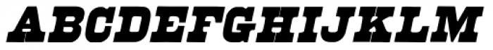 Brute Aldine Italic Font UPPERCASE
