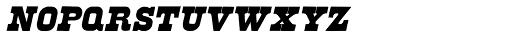 Brute Aldine Italic Font LOWERCASE