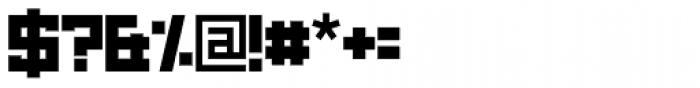 Brute Black Font OTHER CHARS