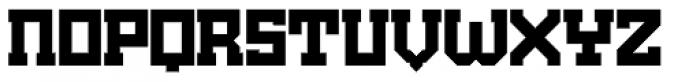 Brute Black Font LOWERCASE