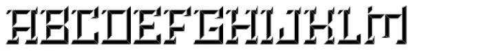 Brute Bottom Right Font UPPERCASE