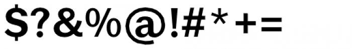 Brute Sans Demi Bold Font OTHER CHARS