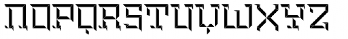 Brute Top Right Font UPPERCASE