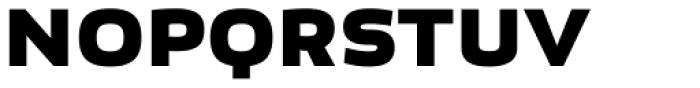 Bruum FY Black Font UPPERCASE