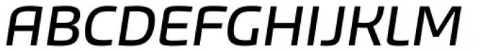 Bruum FY Italic Font UPPERCASE