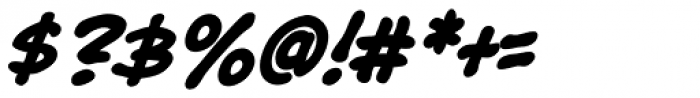 Bryan Talbot Bold Italic Font OTHER CHARS