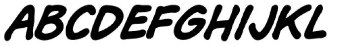 Bryan Talbot Bold Italic Font LOWERCASE
